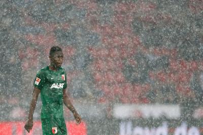 football rain