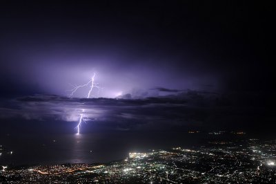 lightning haiti