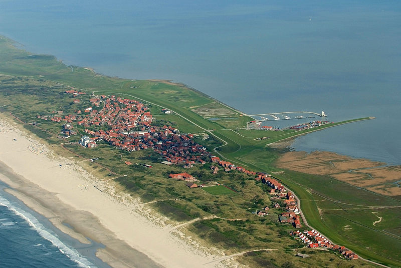 Juist, a remote German island in the North sea