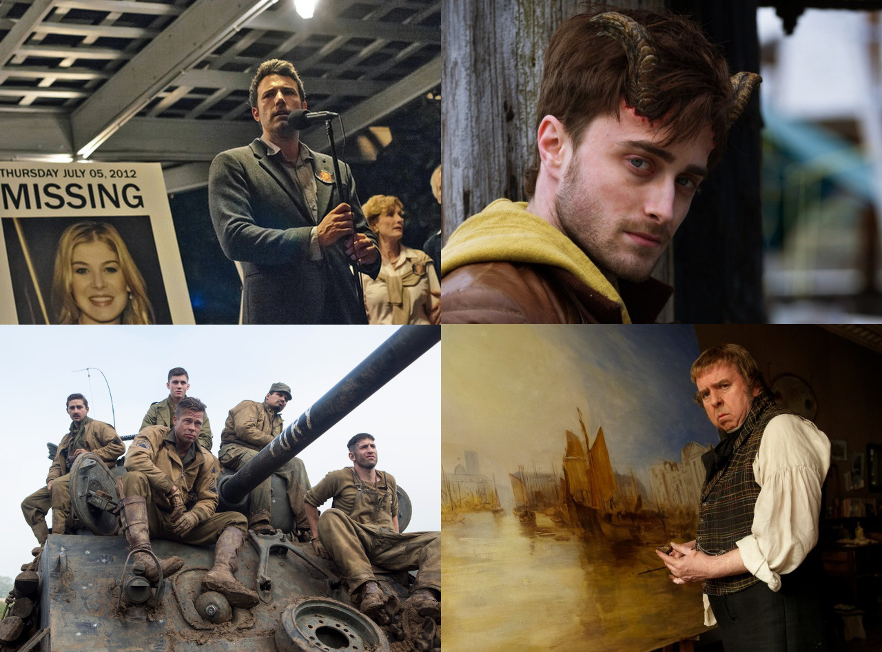 October Film Preview: Gone Girl, Fury, Mr Turner