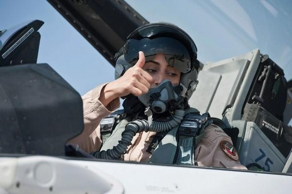 First Female pilot for UAE
