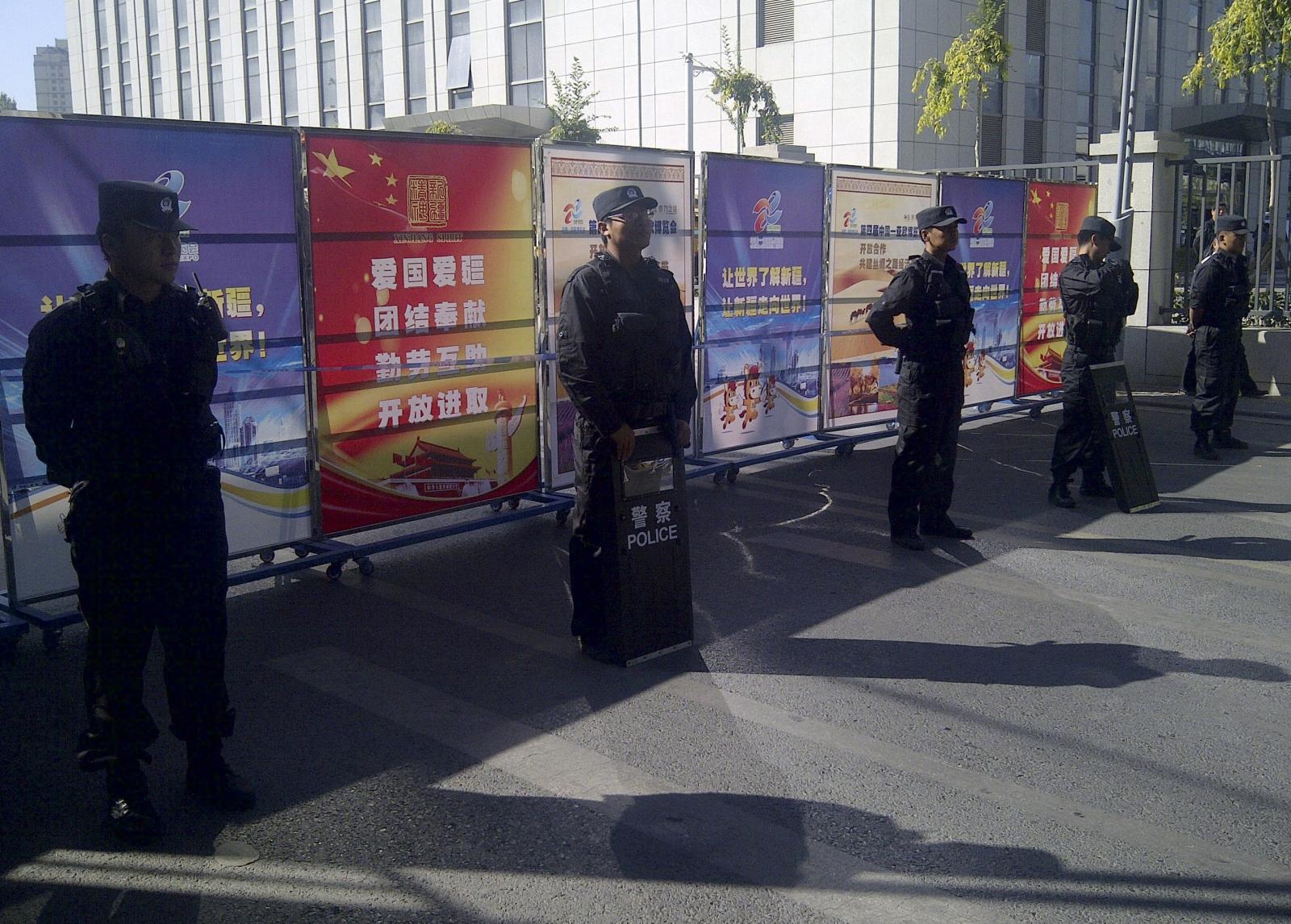 China Xinjiang tensions