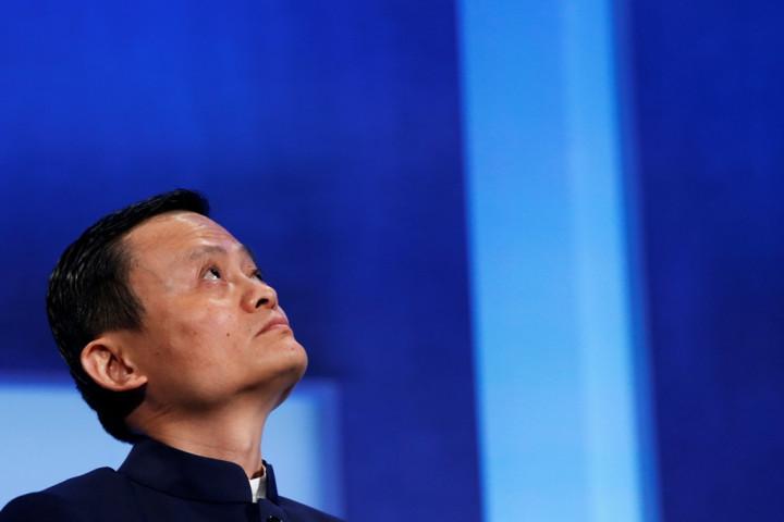Alibaba Group Boss Jack Ma.