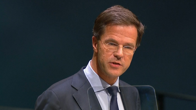 Rutte: MH17 Perpetrators Must be Brought to Justice