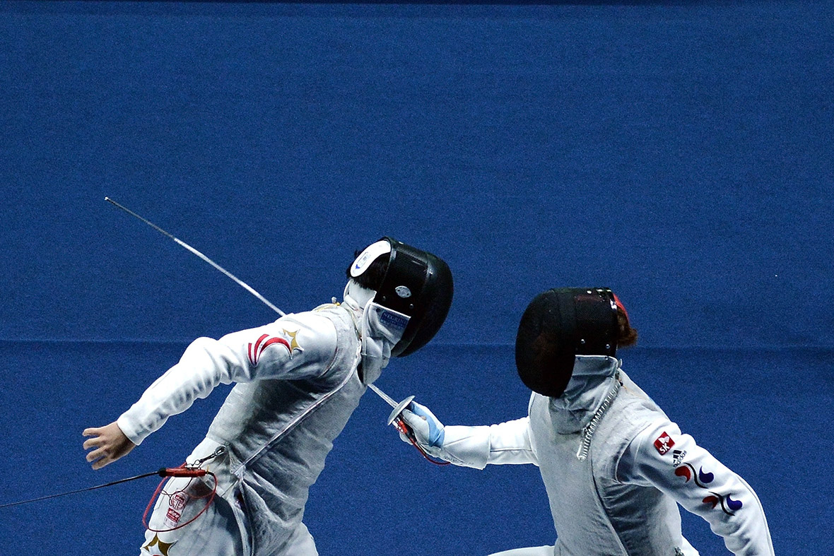 asian games fencing