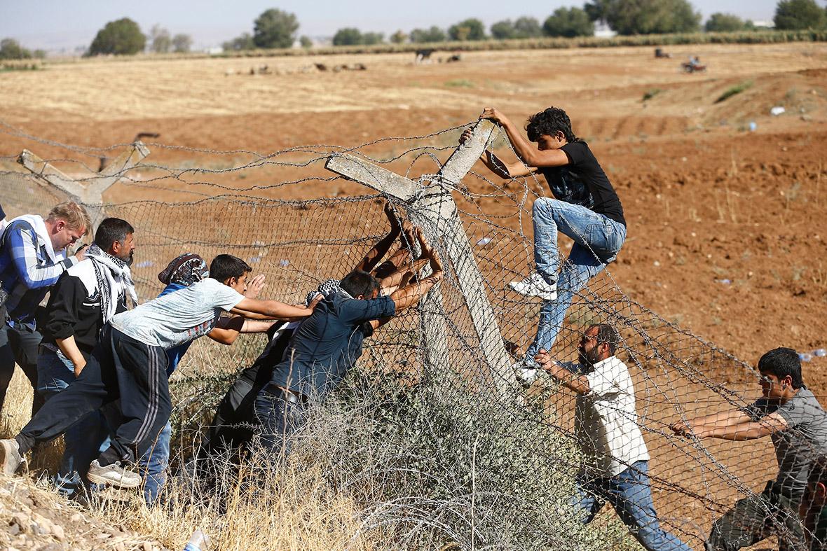 kurds border