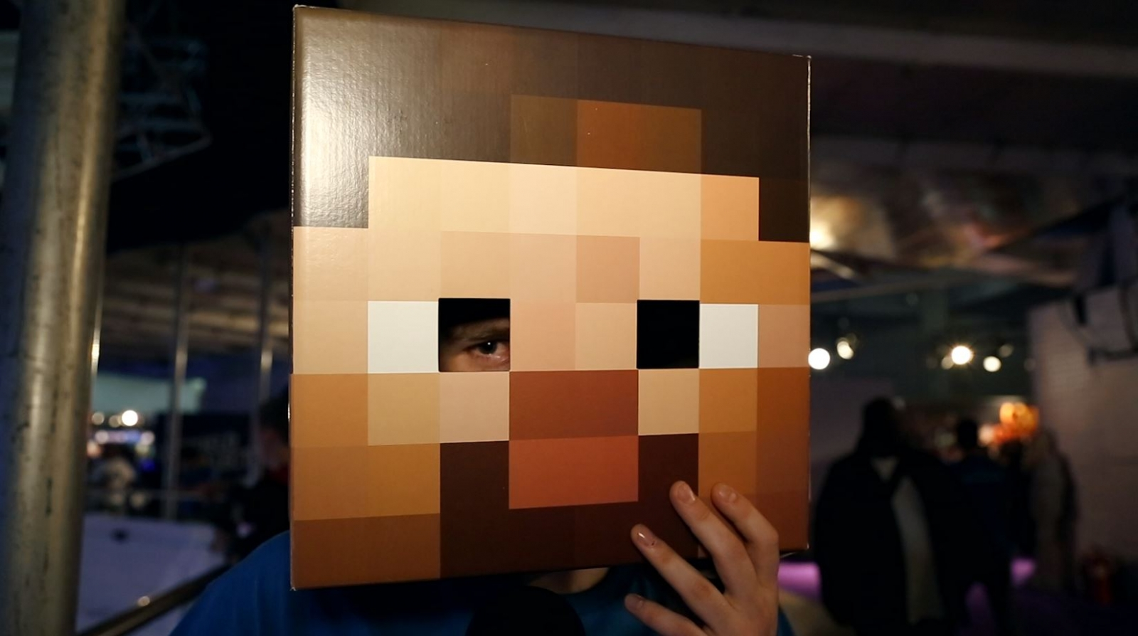 EGX 2014: Minecraft Fans On Microsoft's $2.5 Billion Buy Out