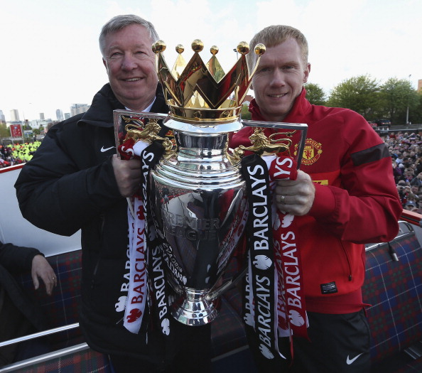 Sir Alex Ferguson-Paul Scholes