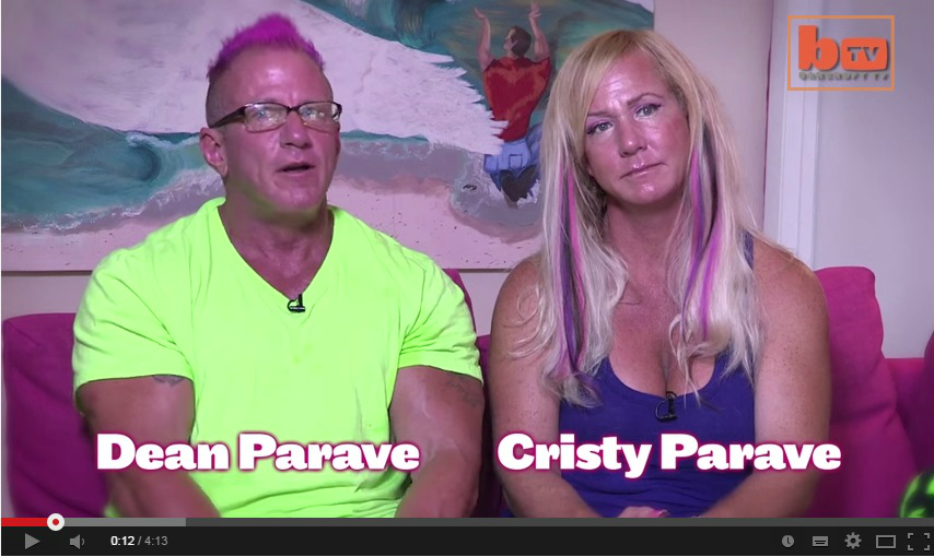 Christian swinger missionaries Dean and Christy Parave