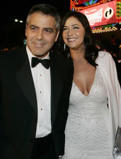 George Clooney and Lisa Snowdon