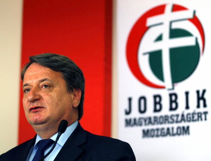 Bela Kovacs, MEP for Hungarian far-right party Jobbik. (Reuters)