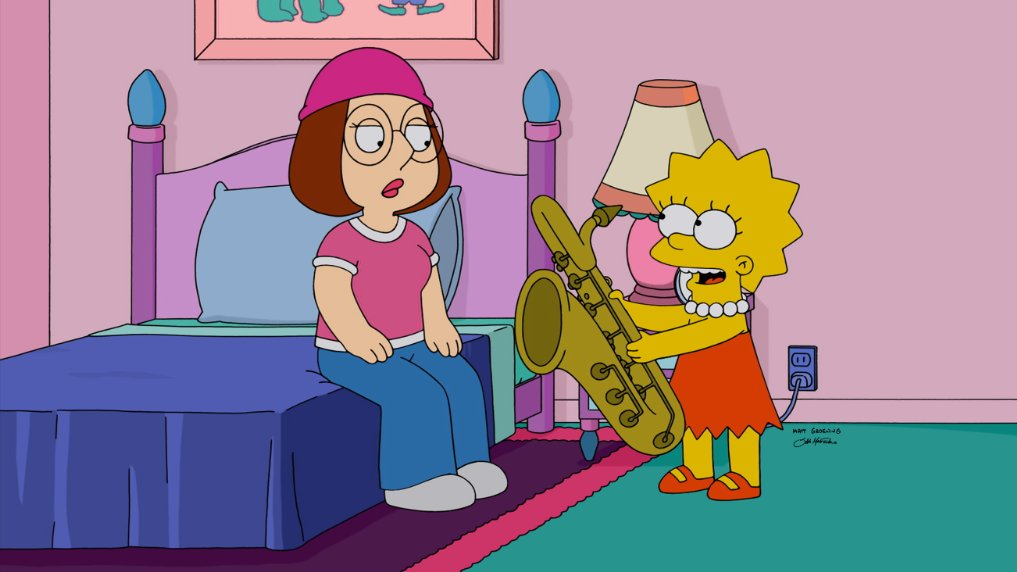 The Simpsons- Family Guy Crossover Episode