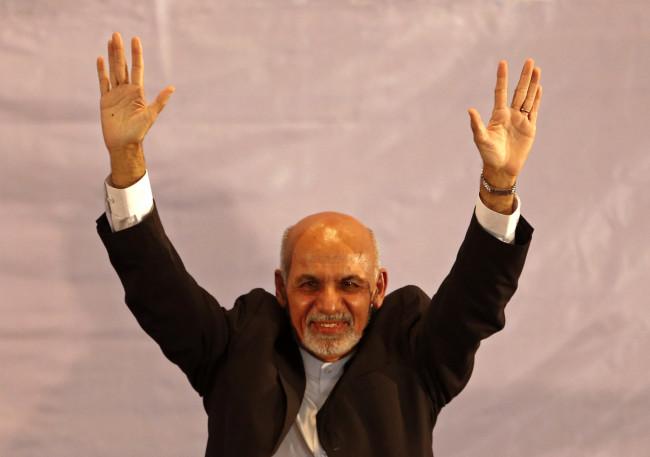 Afghan president swearing-in