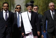 Afghan president swearing-in and Ashraf Ghani\'s invitation to Taliban for talks