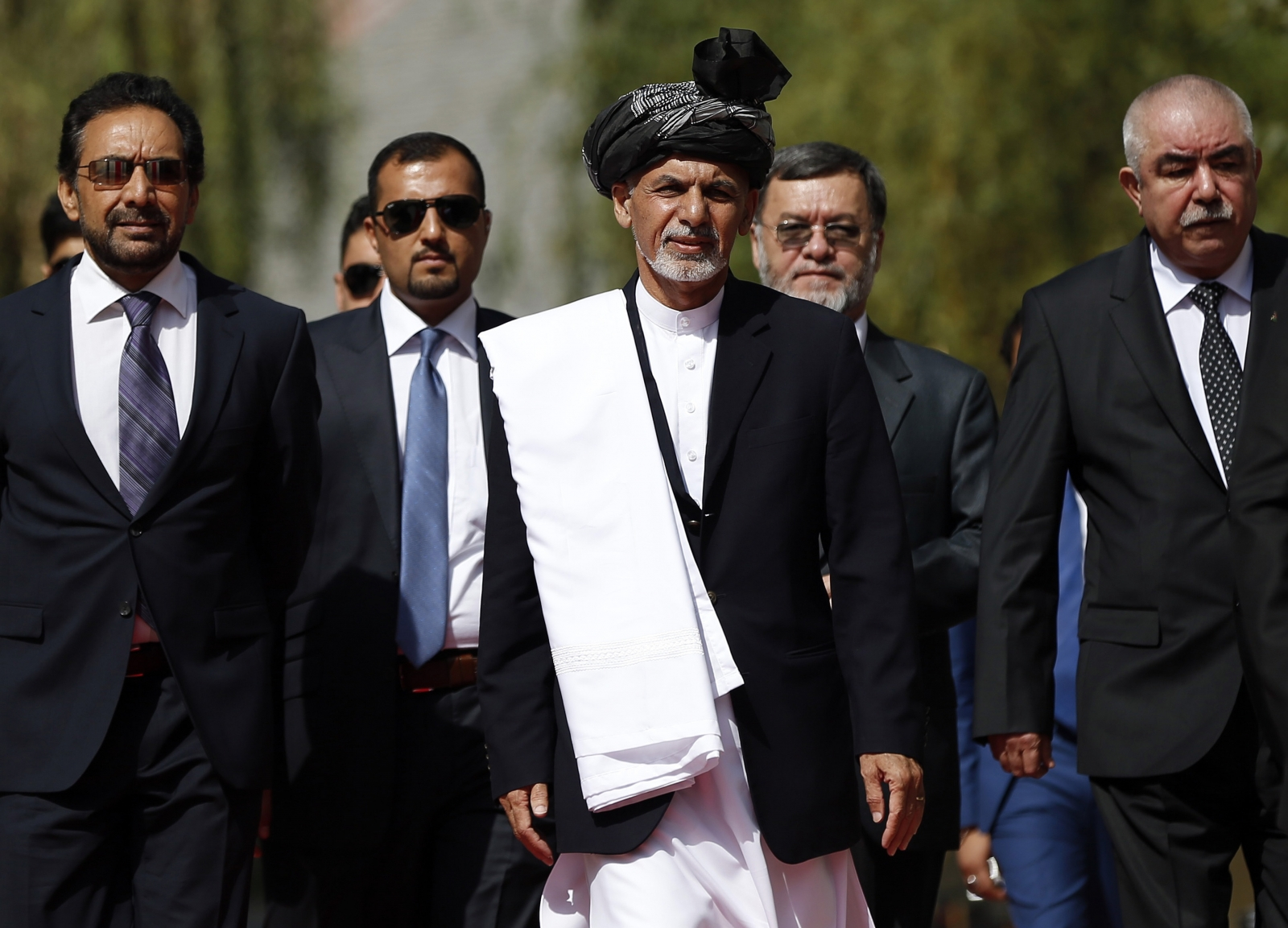 Afghan president swearing-in and Ashraf Ghani's invitation to Taliban for talks