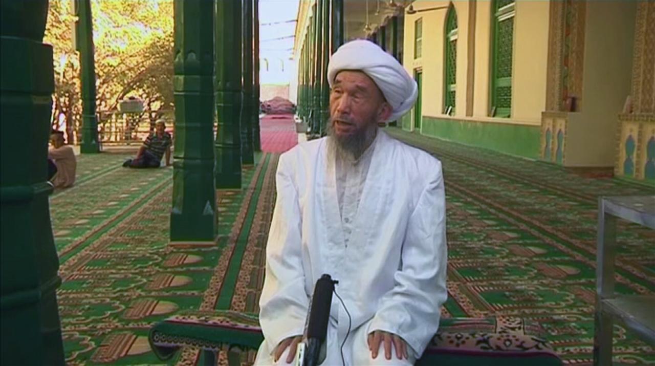 Chinese Imam Juma Tayir