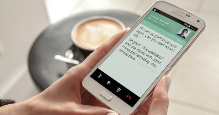 RogerVoice - the world's first subtitling smartphone app that enables deaf and hard-of-hearing people to make phone calls