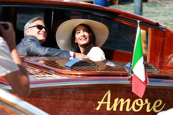 George Clooney and Amal Alamuddin Marry Again in Venice