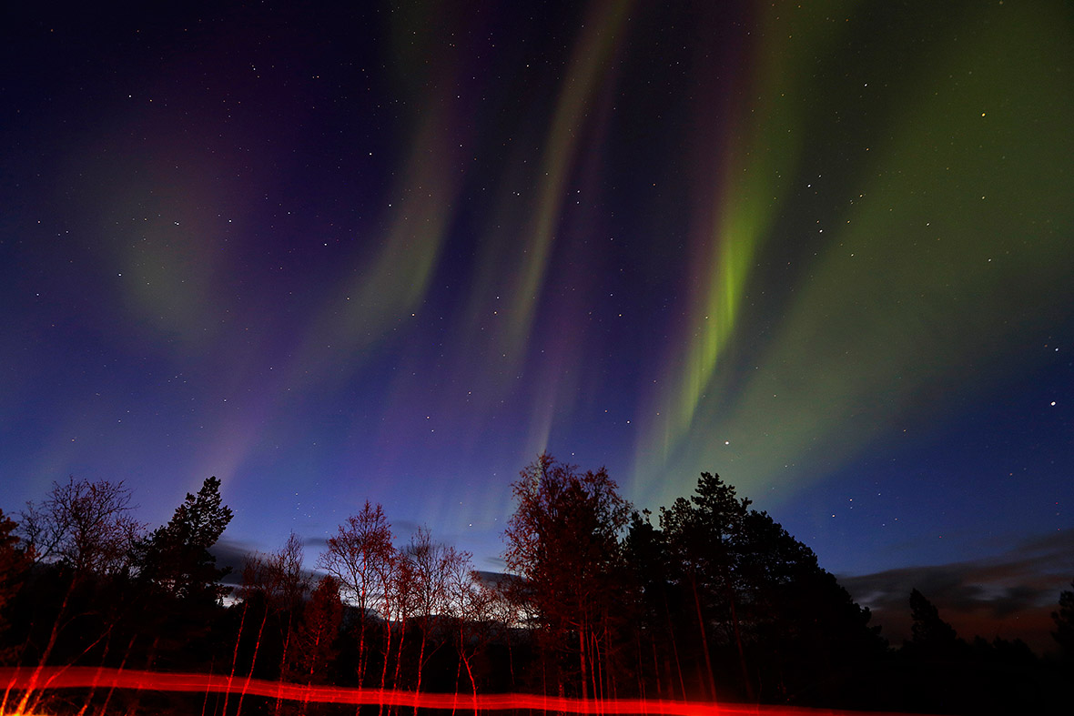 Hot shots photos of the day northern lights brazil hostage drama