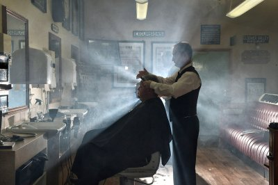 barber shop for railway enthusiasts
