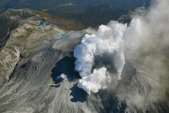 Mount Ontake Eruption
