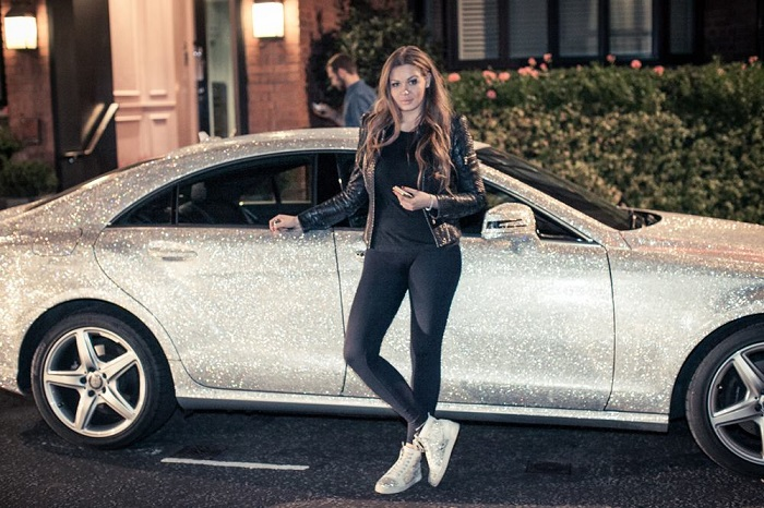 Daria Radionova wants to sell her car for Manchester Dogs Home
