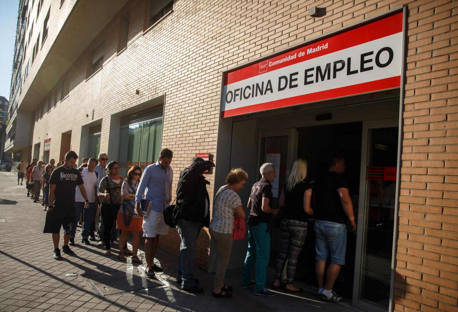 Spanish unemployment centre