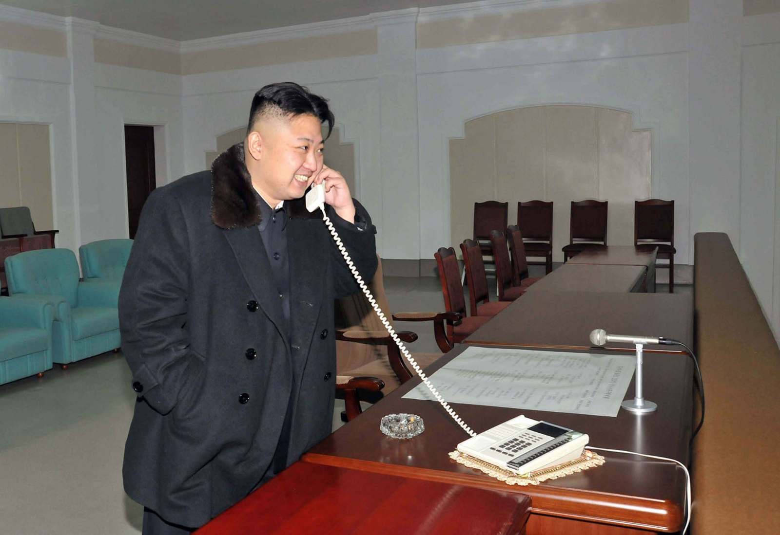 kim jong-un phone