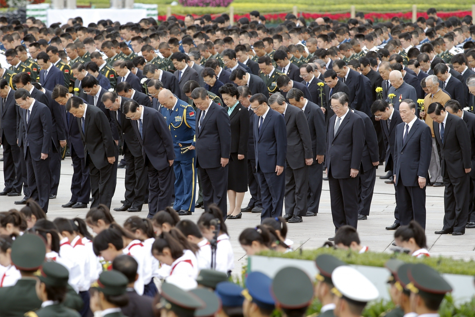 Tiananmen Square memorial service ahead of China National Day