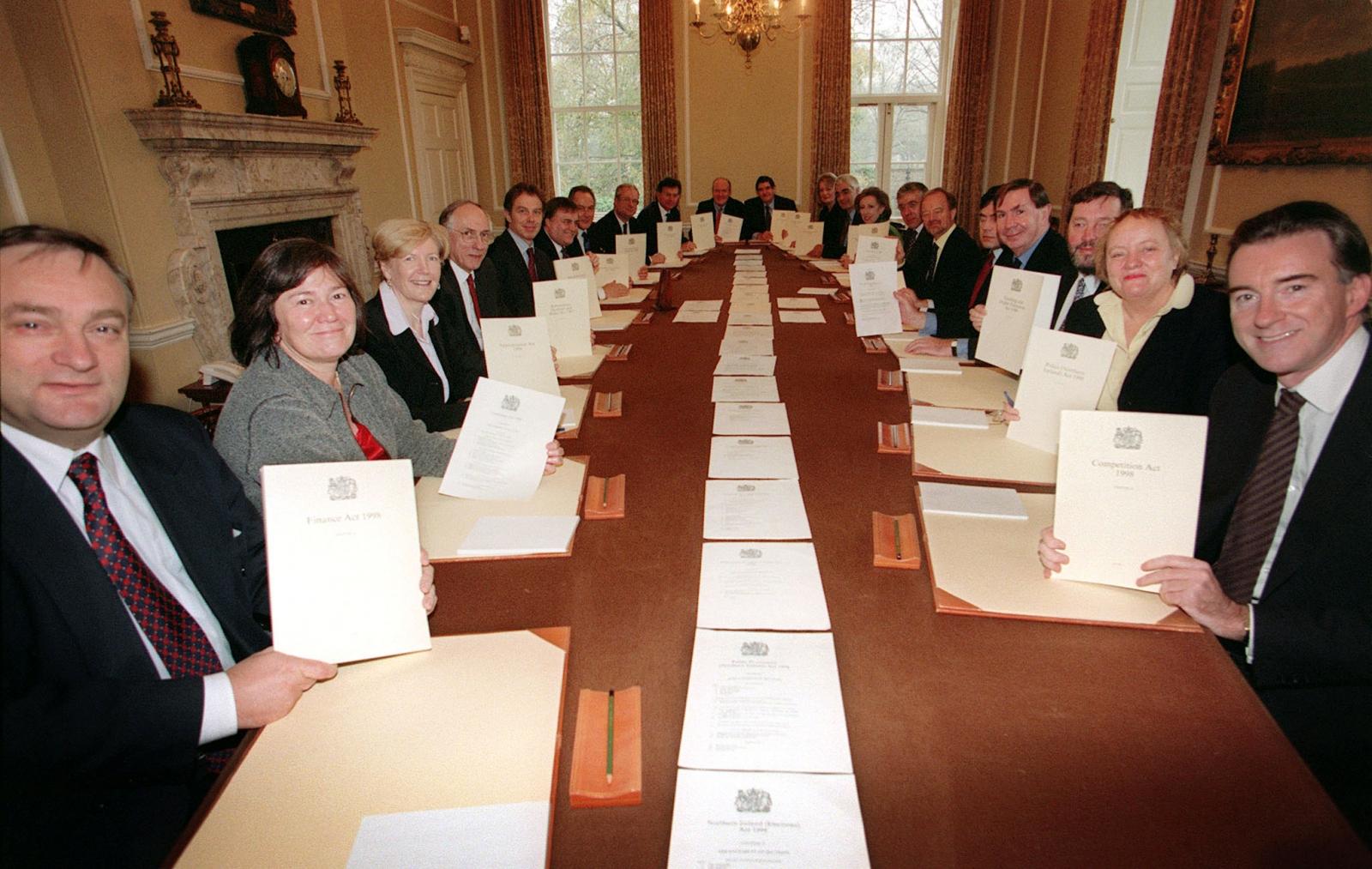 New Labour cabinet 1998