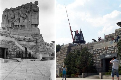 stalin statue metronome prague