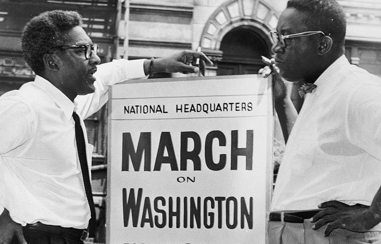 Bayard Rustin March