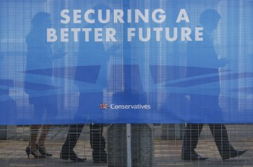 Conservative Party Conference banner