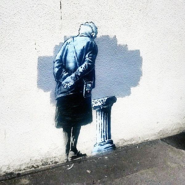 D Art Exhibition Uk : New banksy mural painted overnight in folkestone kent