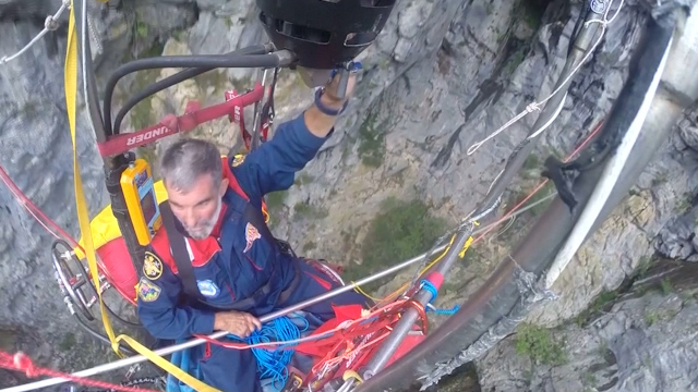 Seventy-Year-Old Adventurer Balloons In and Out of 200-Metre Deep Cave