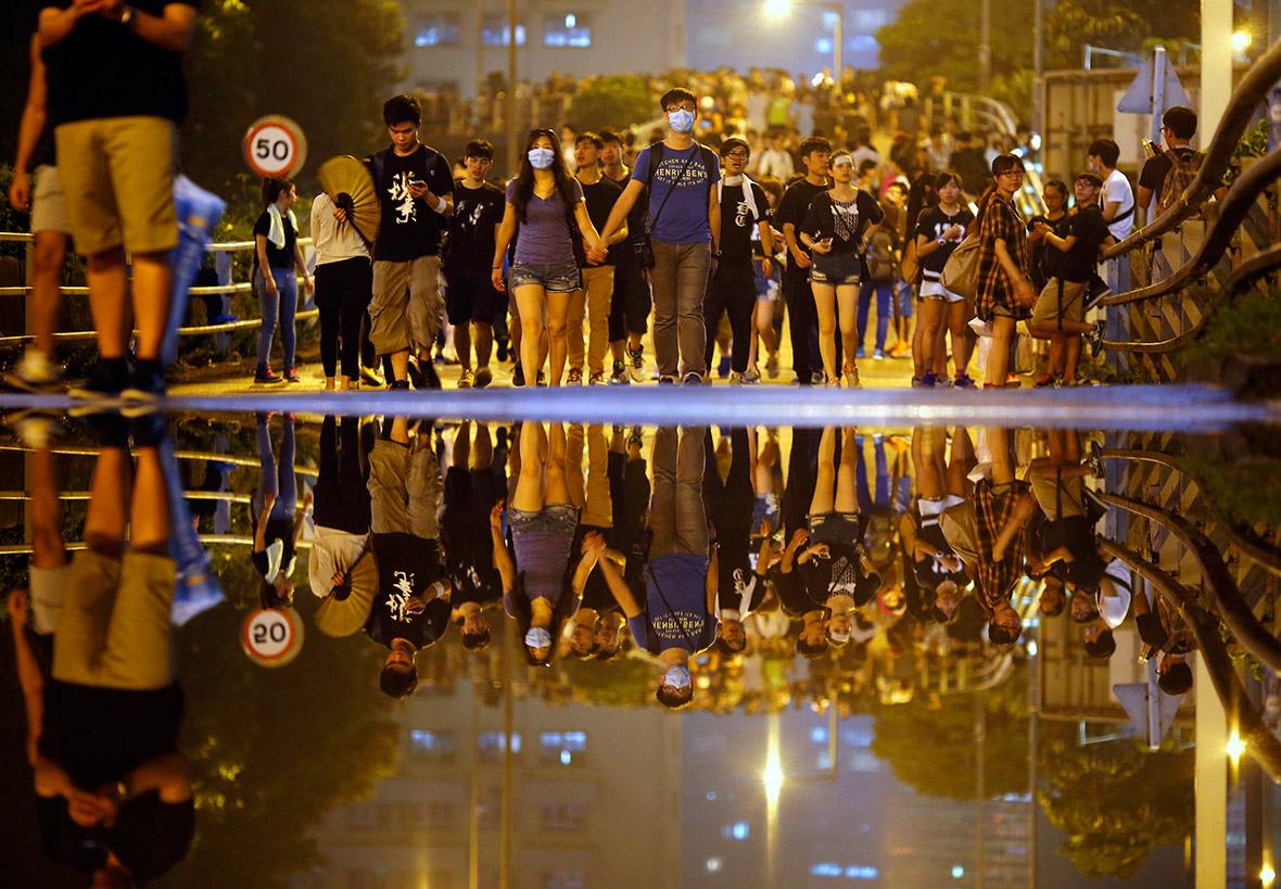 hong kong umbrella revolution