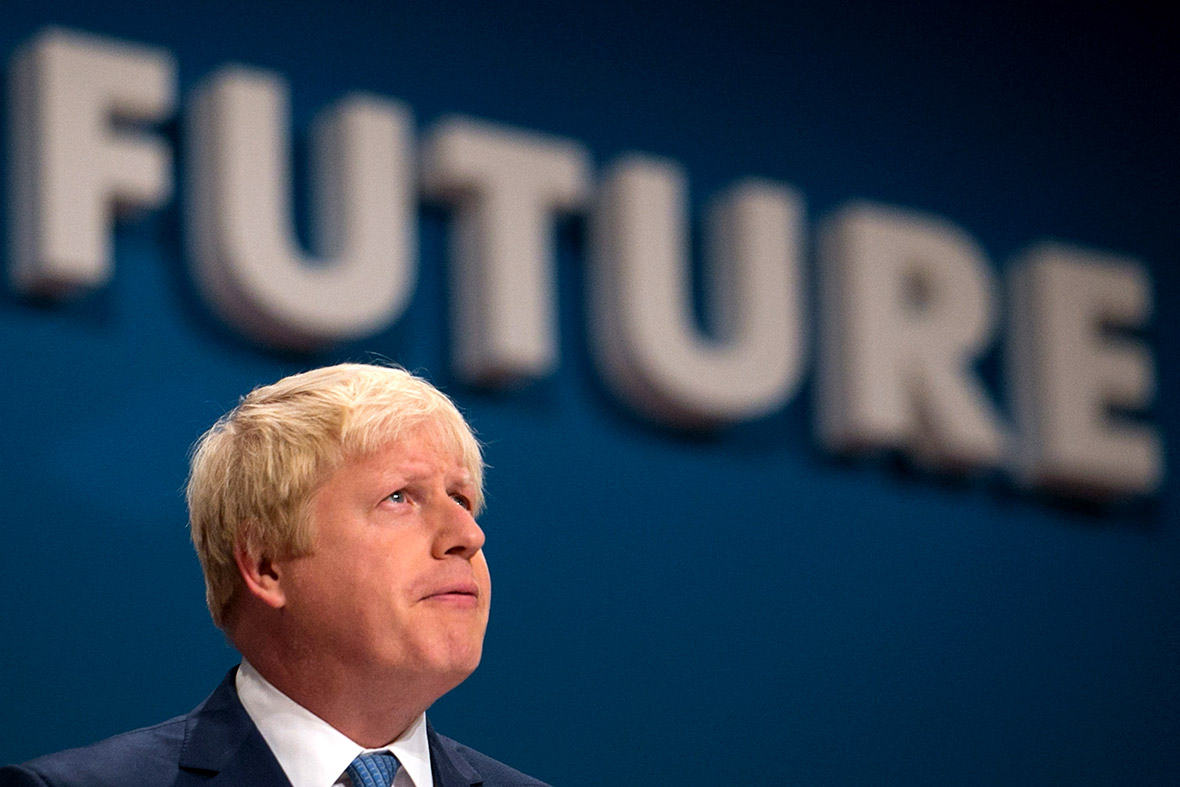 Conservative Party Conference Boris Johnson