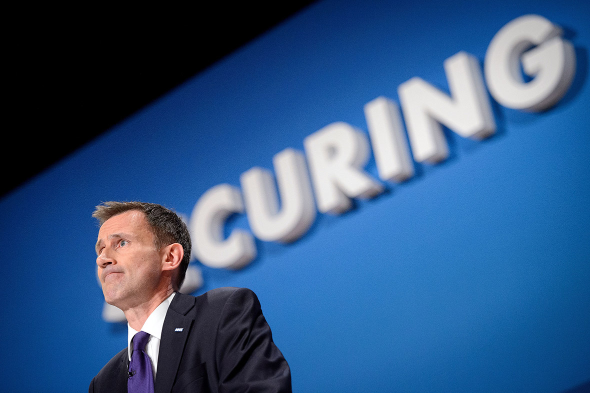 Conservative Party Conference Jeremy Hunt