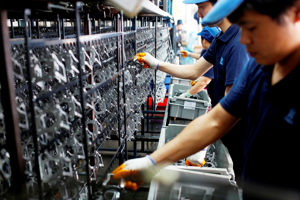 Factory Activity Across Much of Asia Stumbles in September