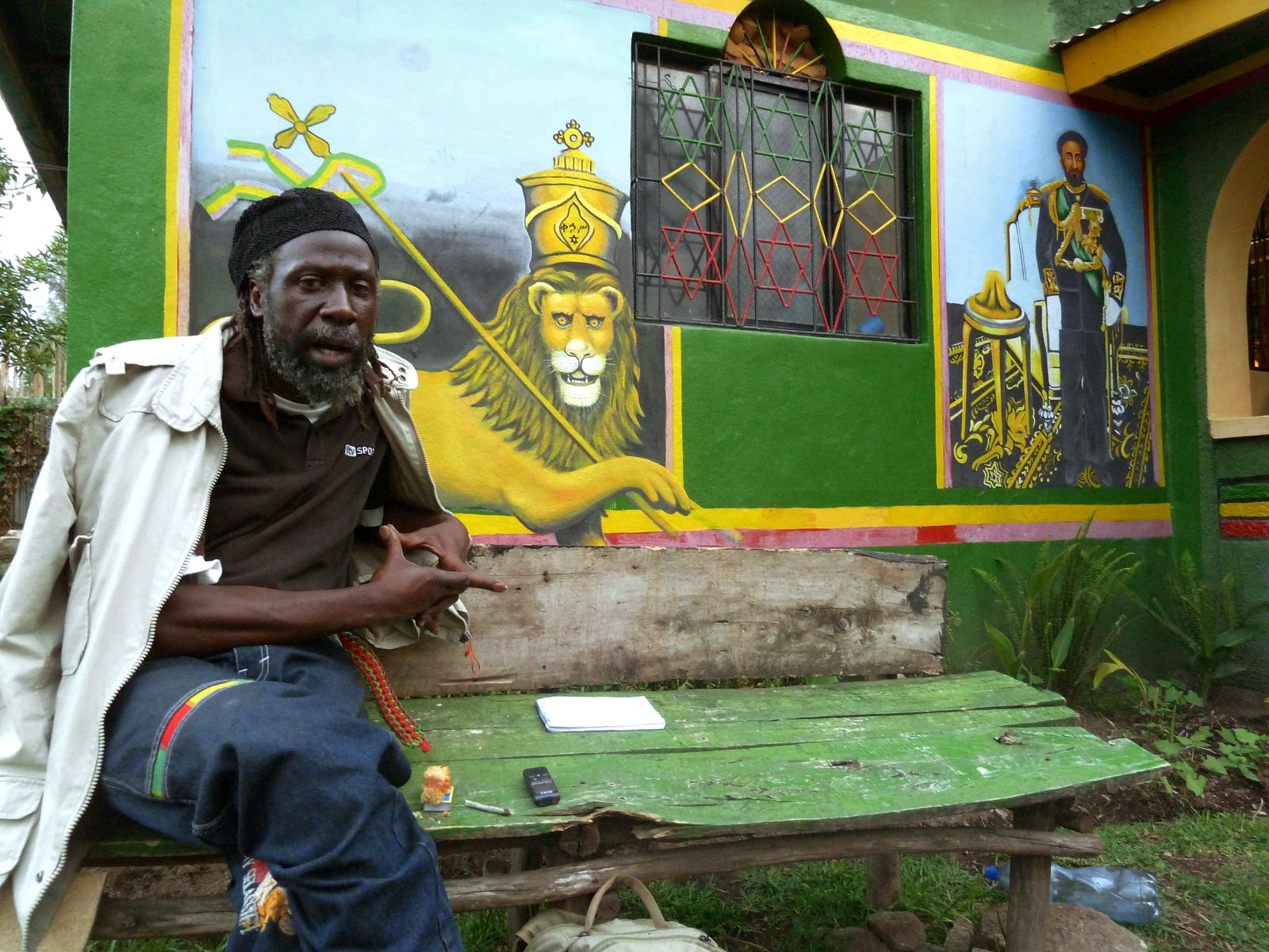 Rastafarians in Jamaica such as rasta priest Ras Moya will soon be smoke cannabis legally