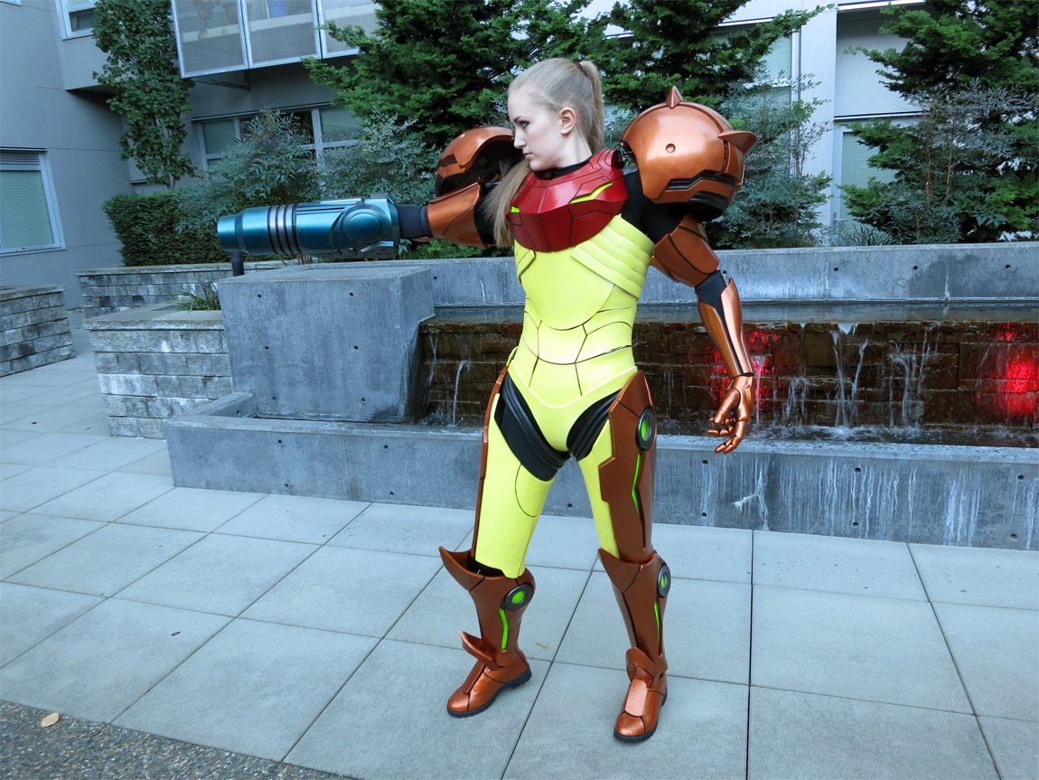 The completed Varia Suit, which took over 2 years to complete and cost $3,000-$4,000