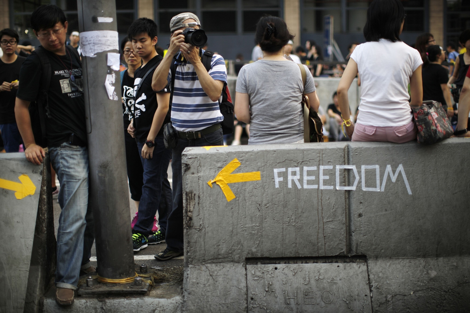 Hong Kong Protest Organiser Apologises for Disruption
