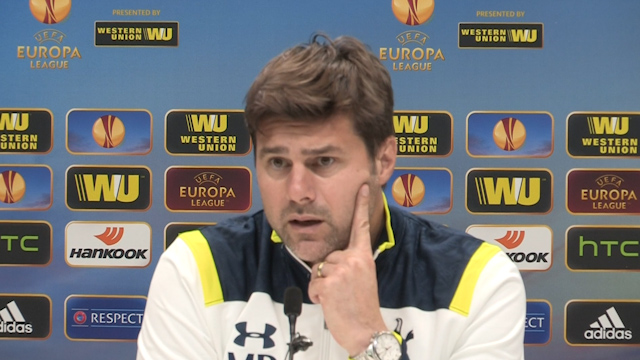 Pochettino Discusses the Effect of the Europa League on Tottenham