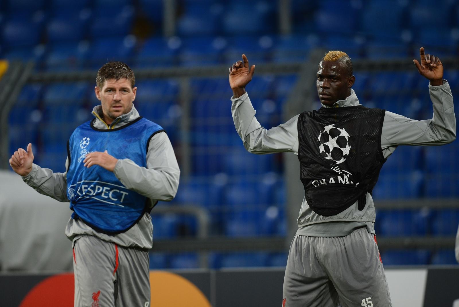 Balotelli and Gerrard