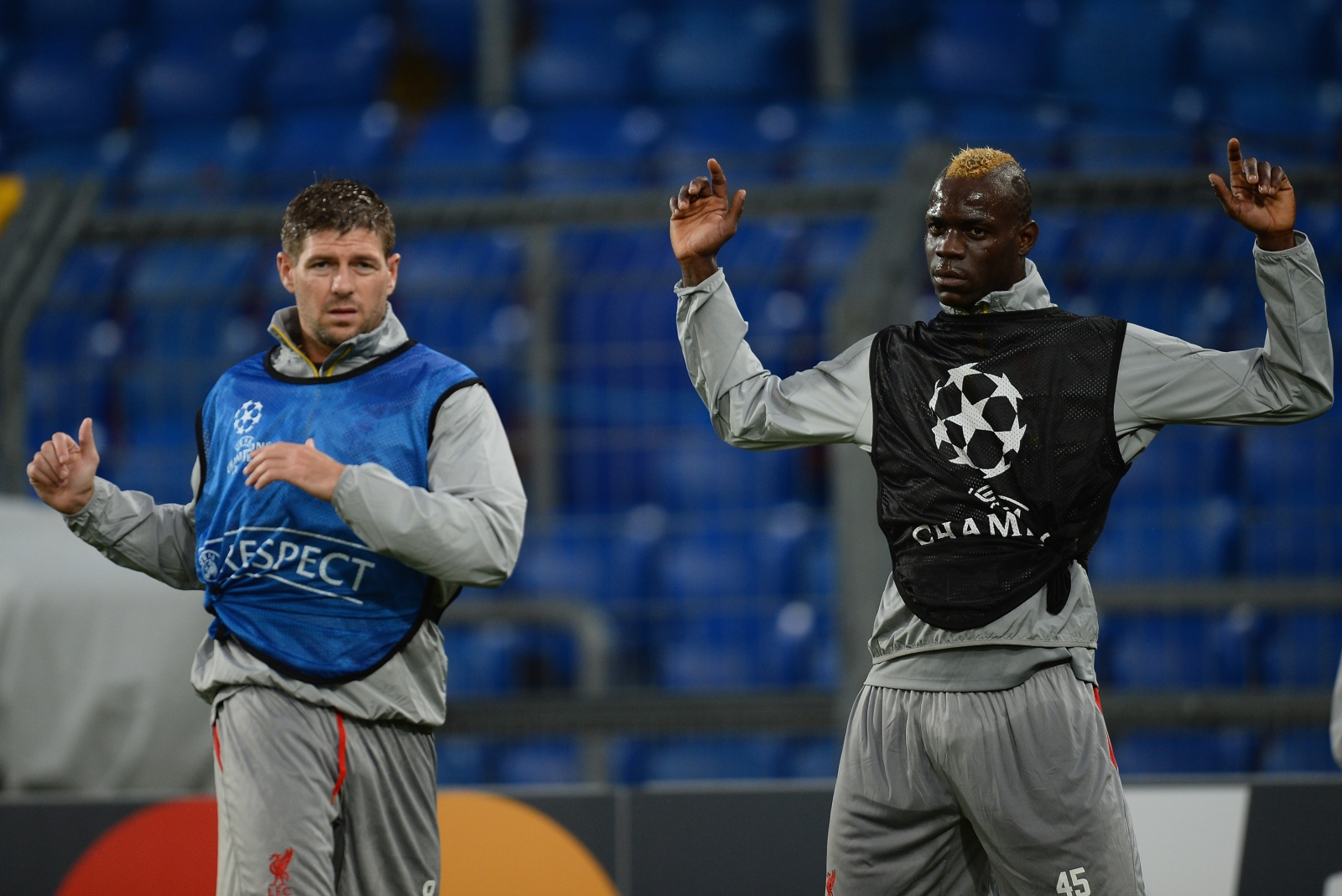Balotelli and Gerrard