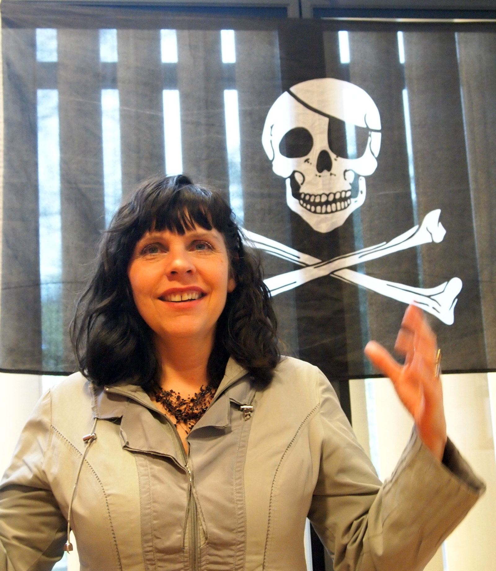 Birgitta Jónsdóttir pirate party