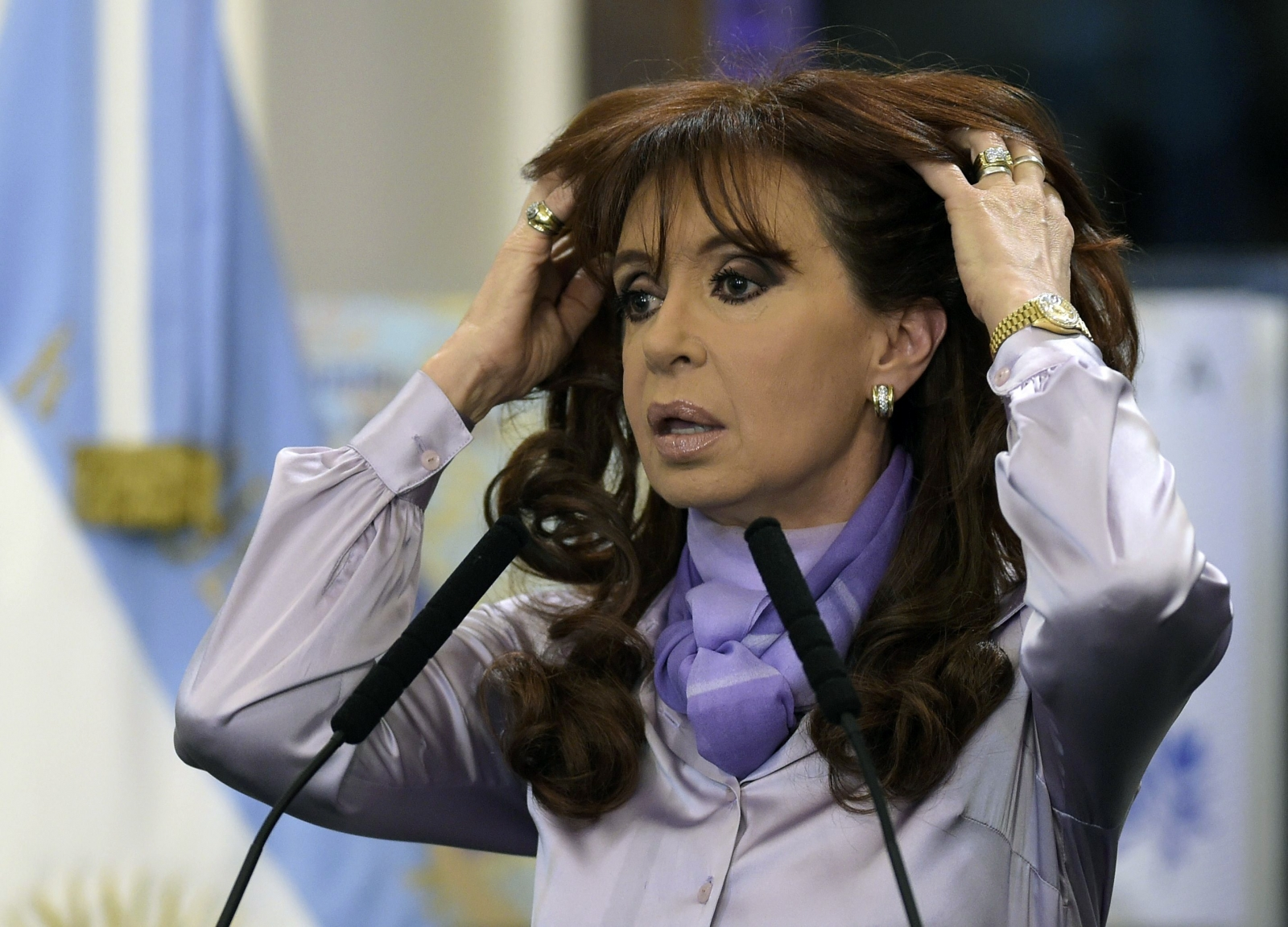 Argentina presidenté Cristina Kirchner thinks the United State could assassinate her and topple nation