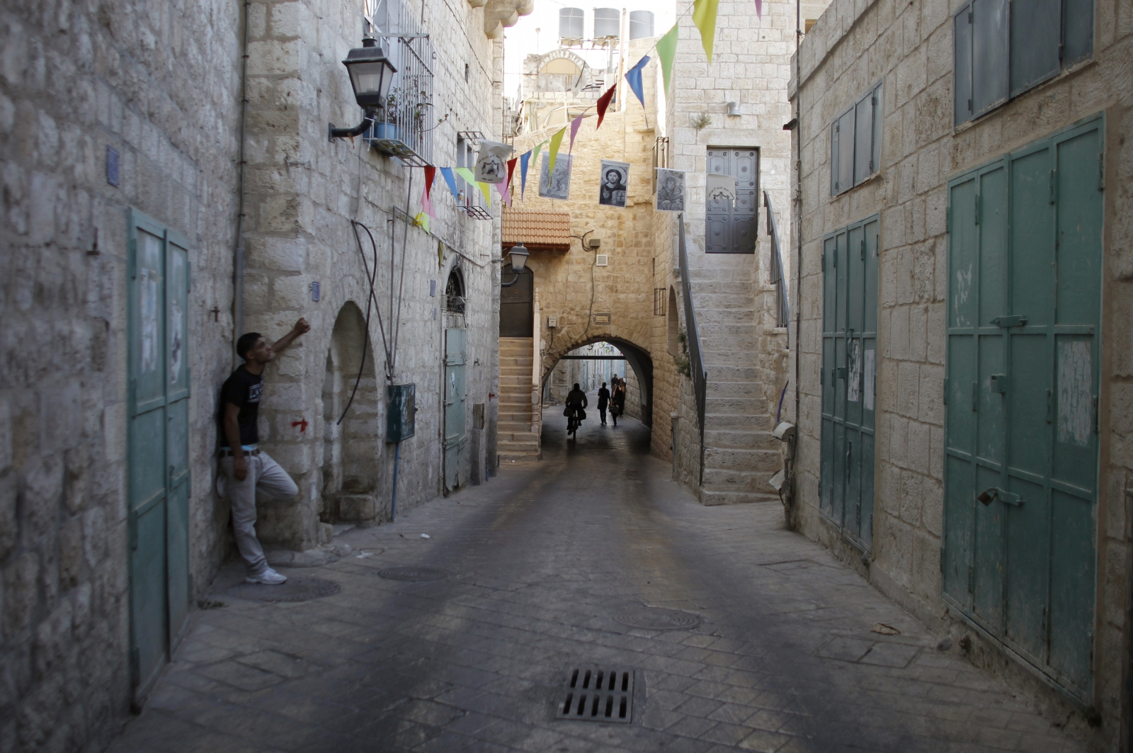 Inside Israel Diary: Walking Through Nazareth's Eerie, Empty Streets