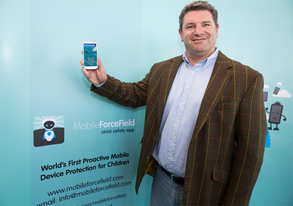 MobileForceField's managing director and co-founder Matthew Archer