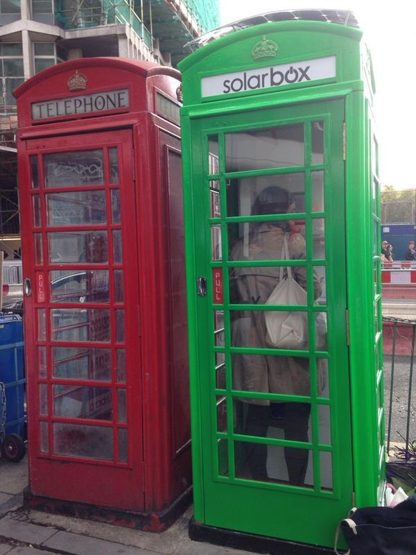 London S Famous Phoneboxes Converted Into Solar Powered